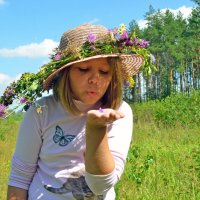 Лети лети цветок... :: Нина Синица
