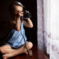 Дочь фотографа :: Эльвира Билибина