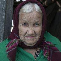 Молодые глаза бабы Ани. :: Vasiliy Scherbinin