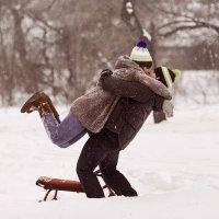 Зимние забавы :: Мария Буданова