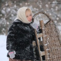 катание на санях :: Ольга Косолюкина