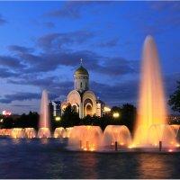 Ночные фонтаны :: Виктория Иванова