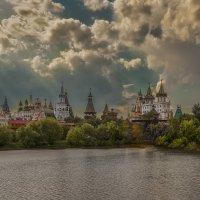 Москва.Измайловский Кремль.Вечереет :: юрий макаров