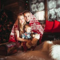 Новогоднее тепло семьи :: Илья Земитс