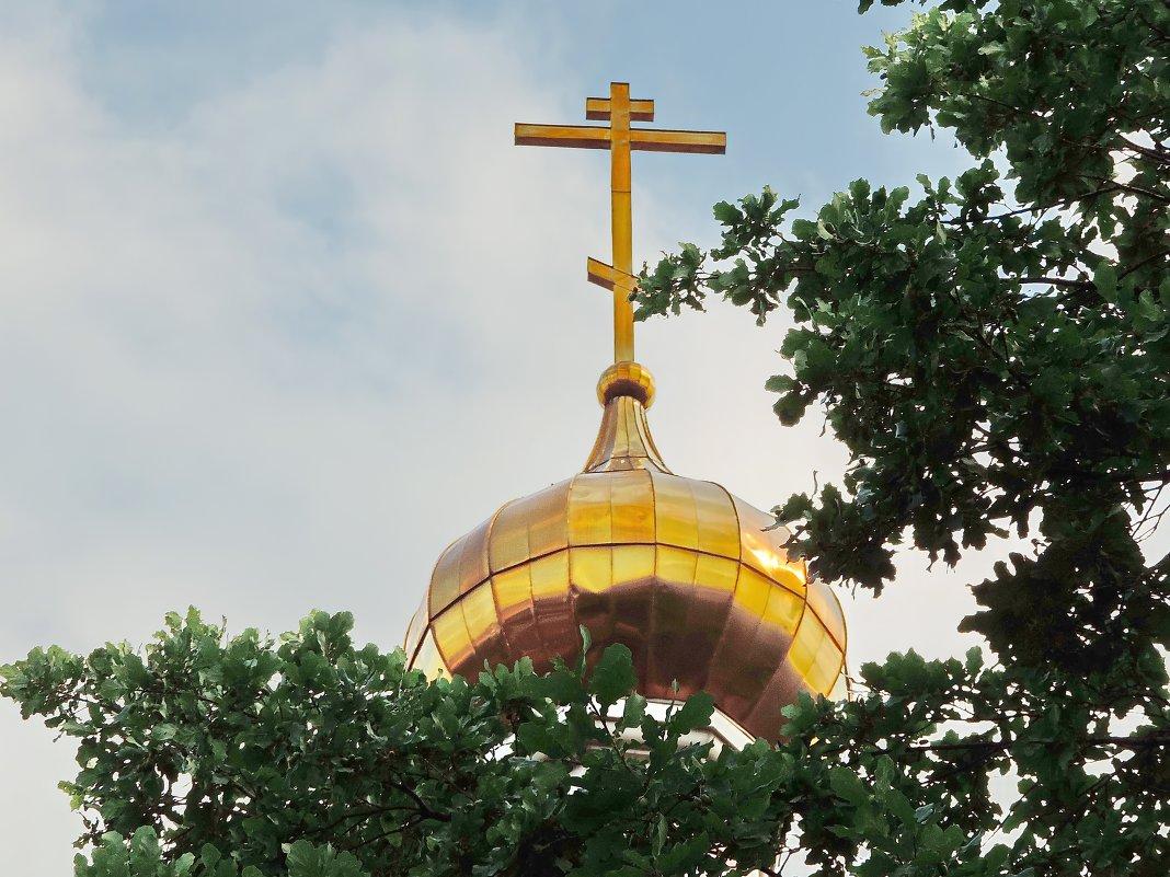 Храм Воскресения Христова на бывшем Семёновском кладбище. - Геннадий Александрович