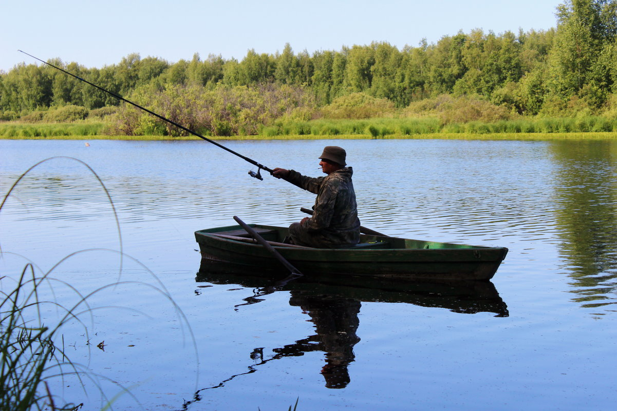 график рыбалки на озерах