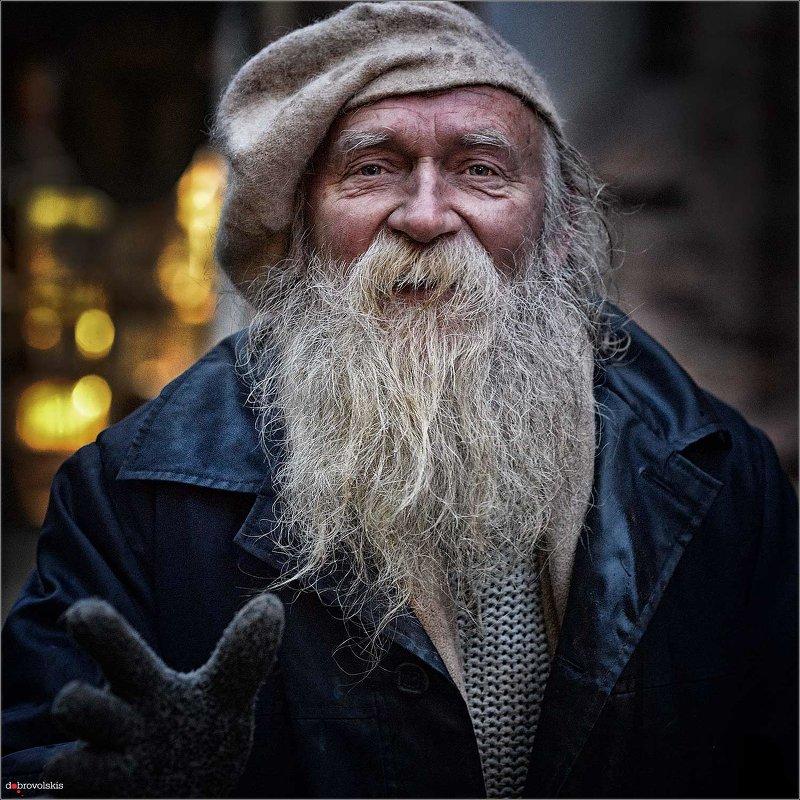 An Old Man - Vladas Dobrovolskis