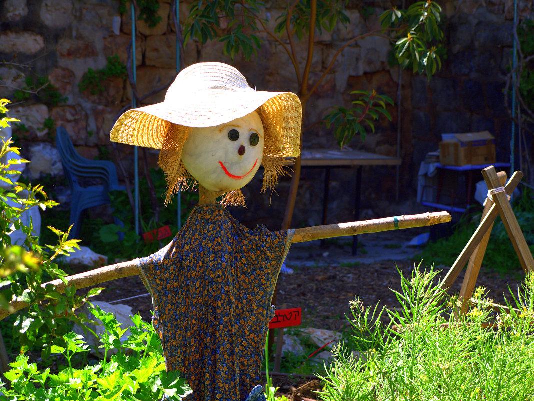 огородное пугало ( чучело) своими руками 1364242