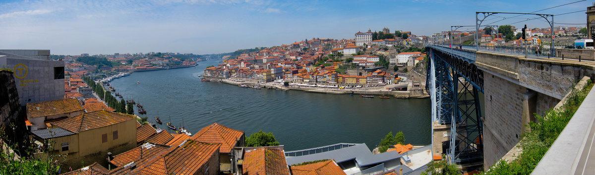 Панорама Порто - Евгений Гришаев