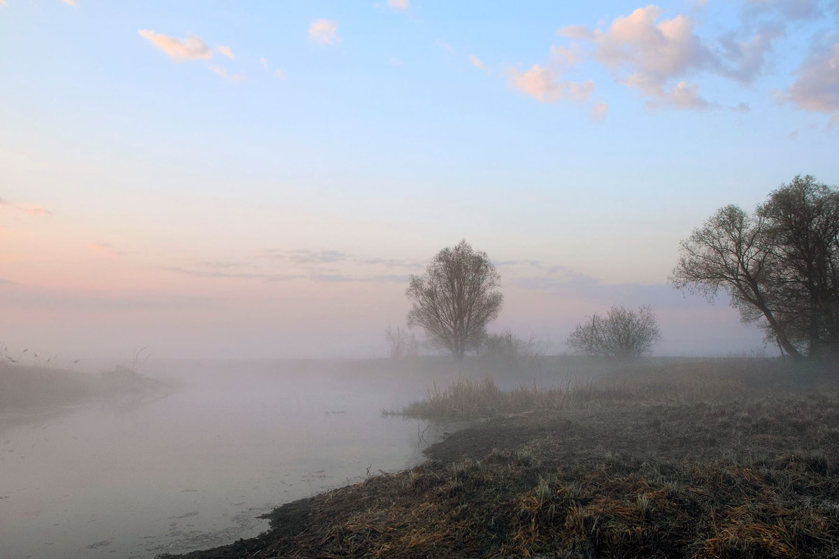 Туман над тихой рекой - Сергей Михайлович