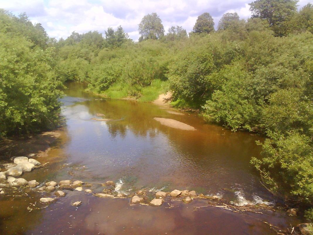 рыбалка на малых реках псковской области