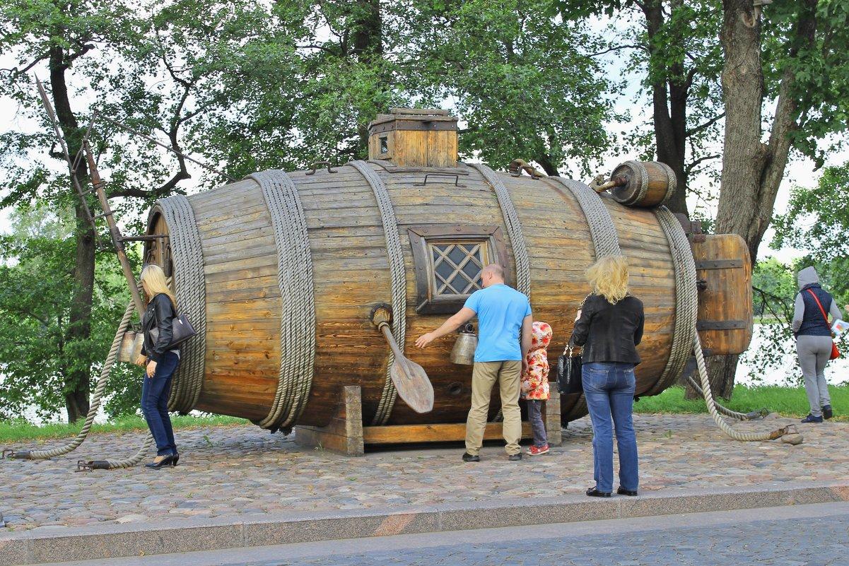 петр первый подводная лодка