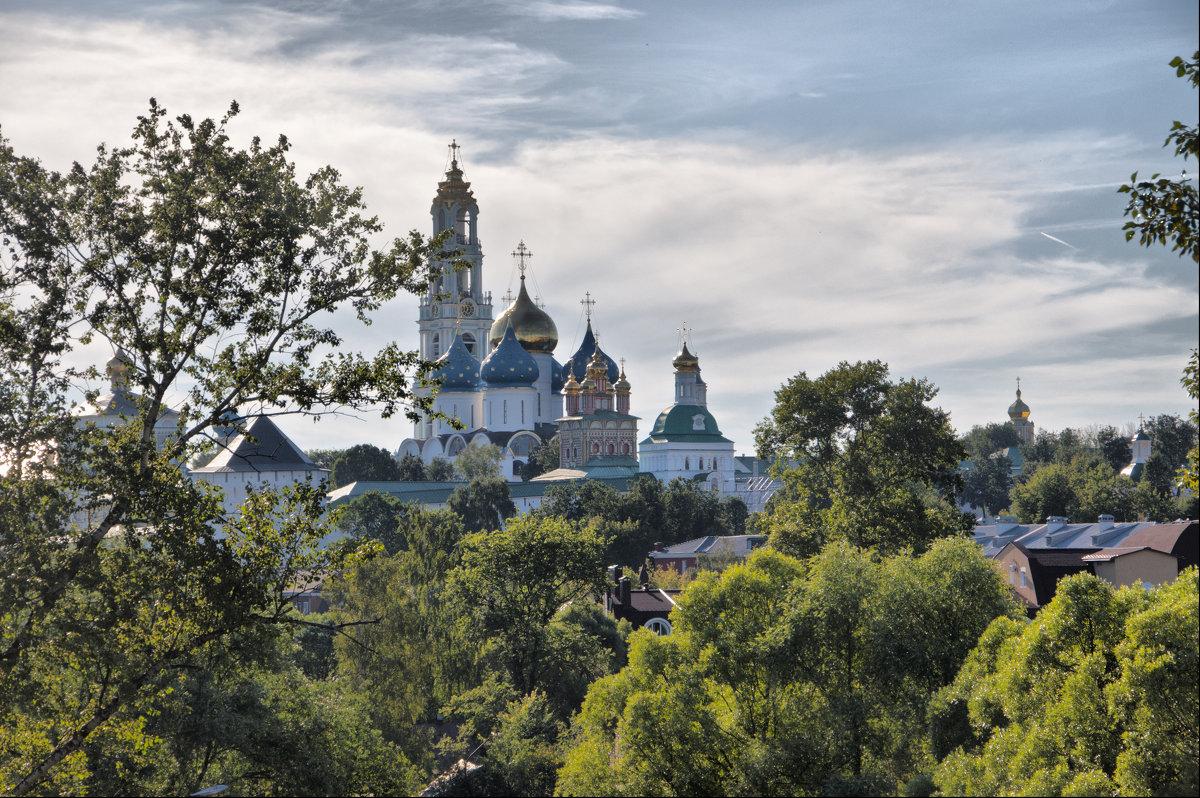Вид на Лавру - marmorozov Морозова