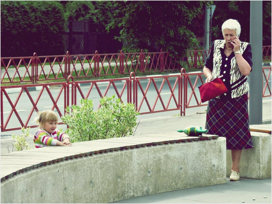 Бабушка и внучка. - Владимир Валов