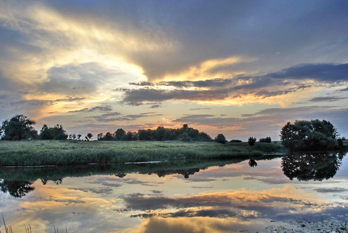 закат на Проне - andrey