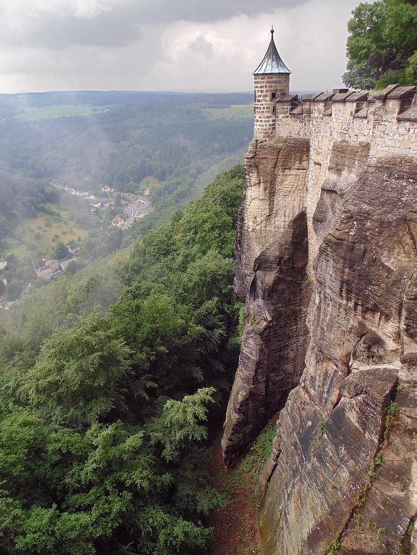 Крепость Кёнигштайн (Германия) - Александр Назаров