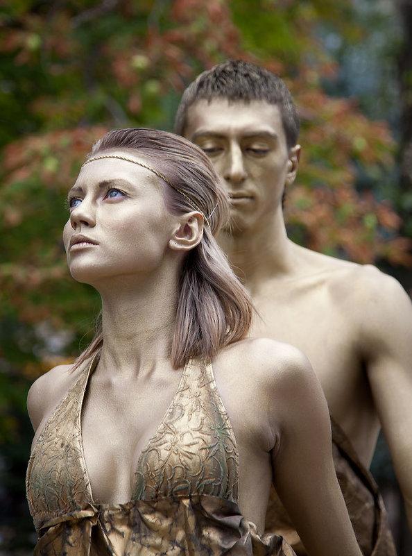 Живые статуи - Alexander Varykhanov