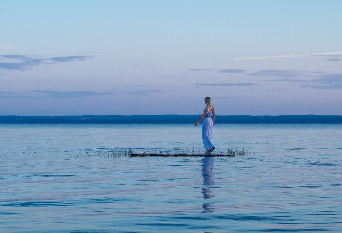 закат на озере - Finist_4 Ivanov