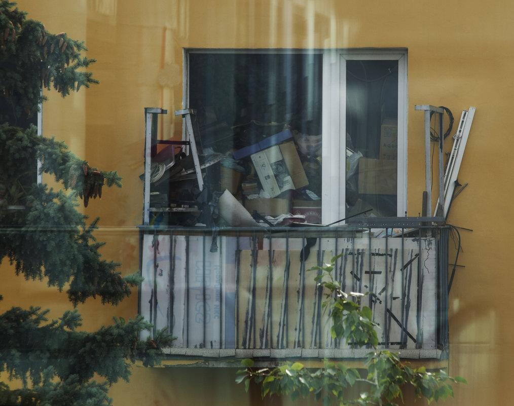 Из окна города П)) - Лазарева Оксана