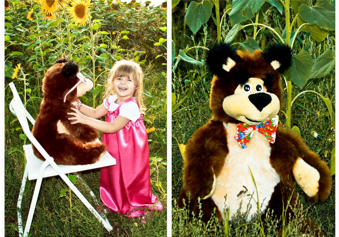 Маша и медведь - Ольга Юртаева