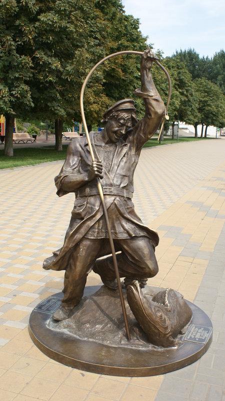 памятник наживщик на сосногорске