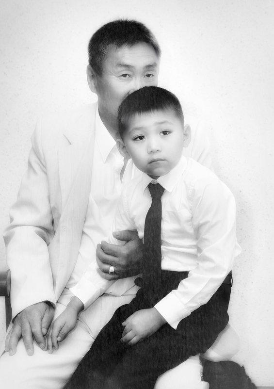 Дед и внук - аркадий глухеньких