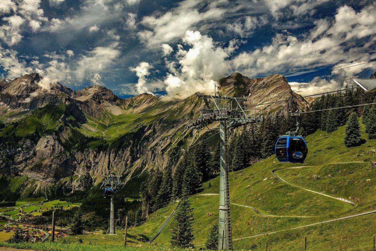 The Alps 2014-Switzerland Kandersteg 10 - Arturs Ancans