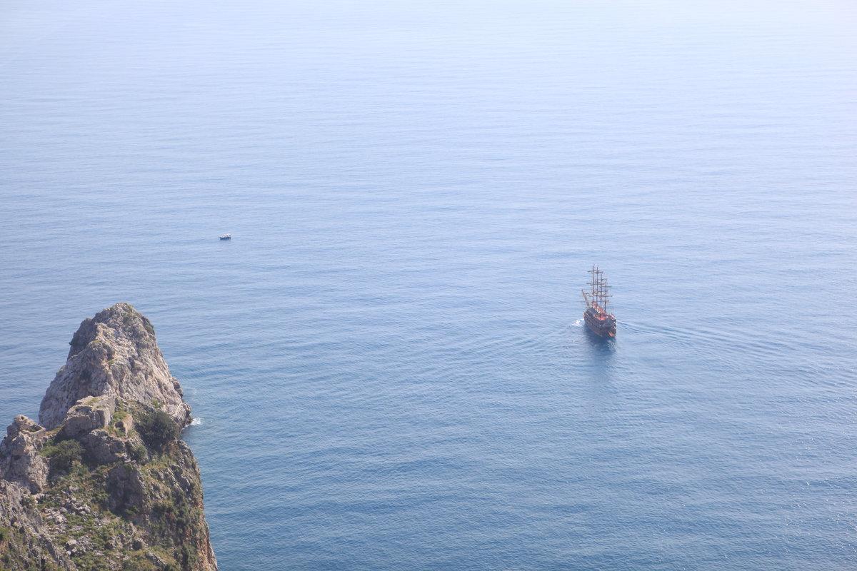 Корабль в море - Артем Бардюжа