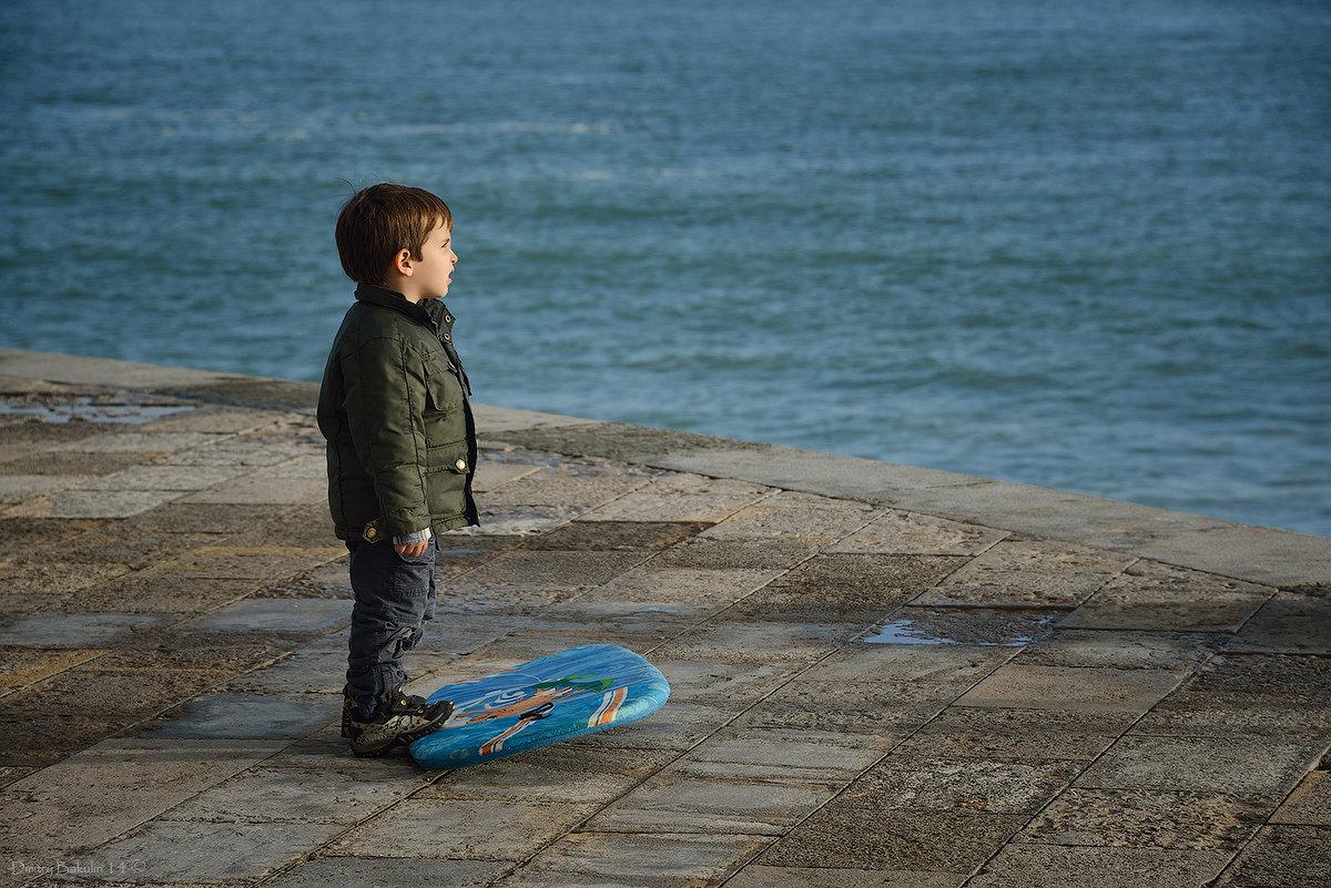 С мечтой о море - Дмитрий Бакулин