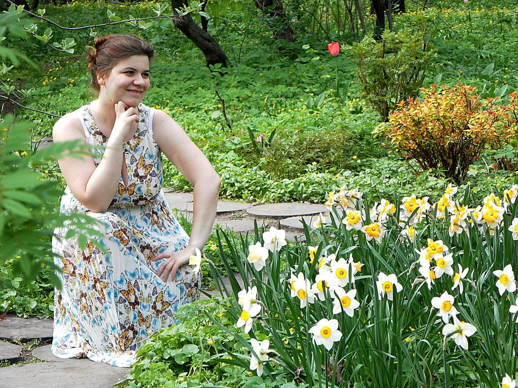 Картинки девушки с весной