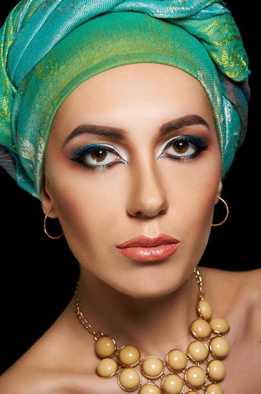 Арабский макияж - Юлия Мальцева