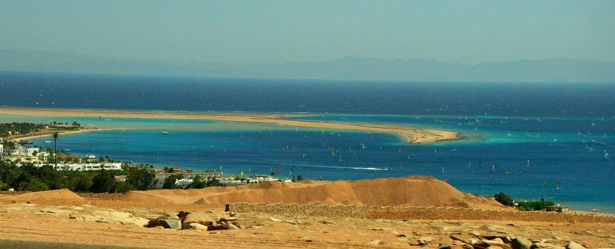 Красное море- рай для серфенгистов. - Oksana