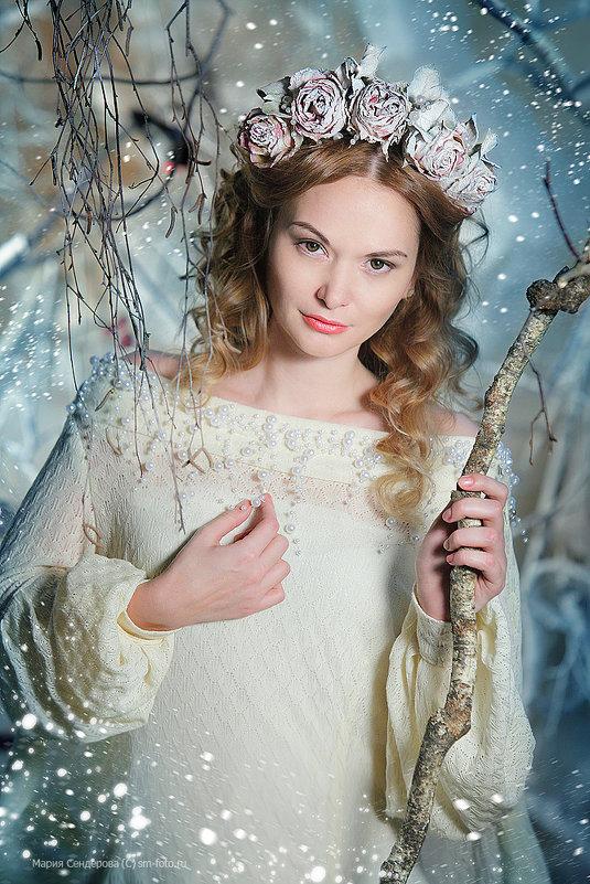 Снегурочка. - Мария Сендерова