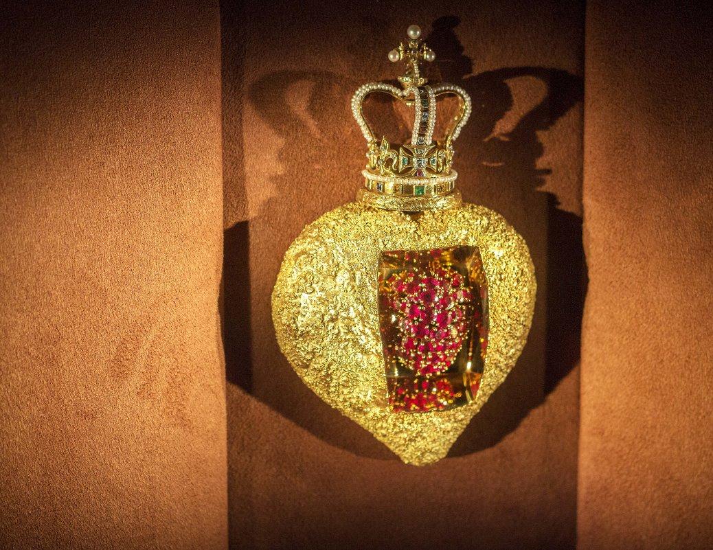 королевское рубиновое сердце.Дали - Слава