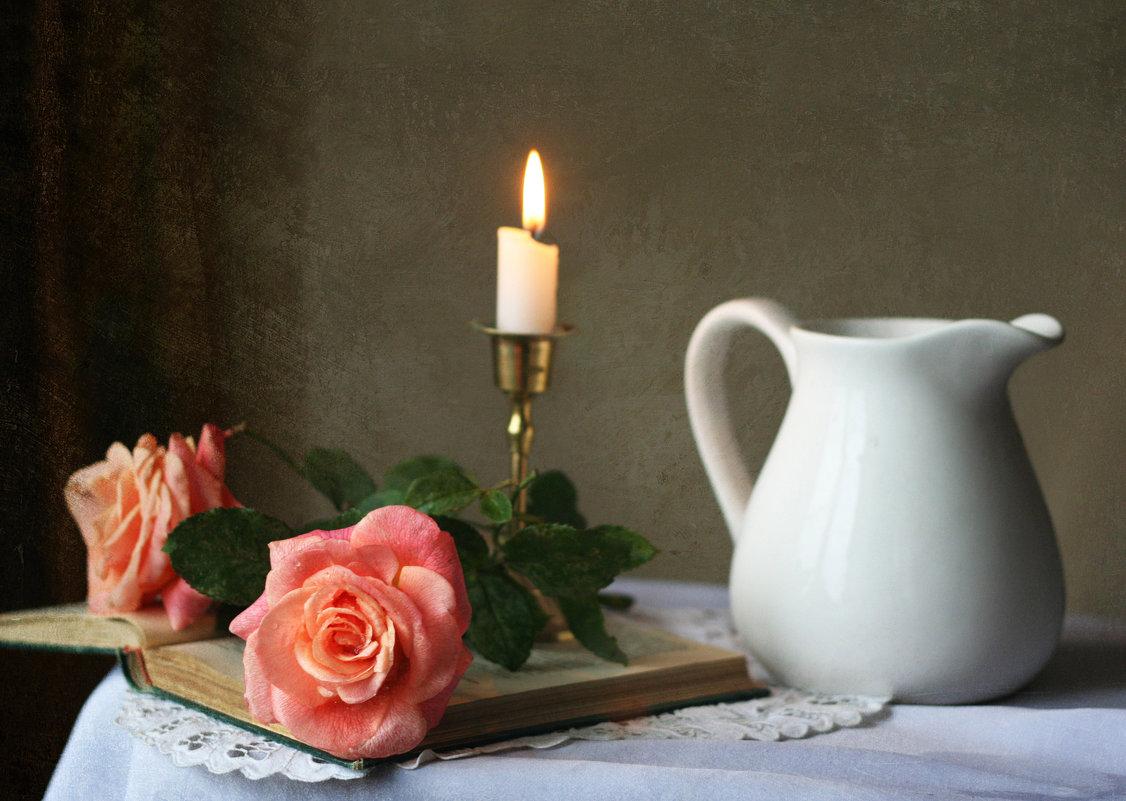Две розы пышно расцвели... - lady-viola2014 -