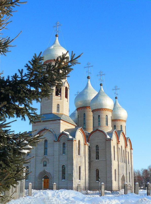 Свято Троицкий храм  г Шарыпово - evgeny