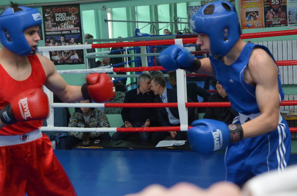 Первый турнир по боксу - Игорь Д