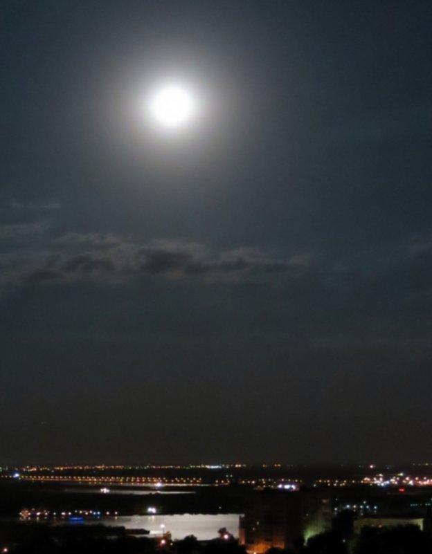 Дон ночью в черте города - Леонид