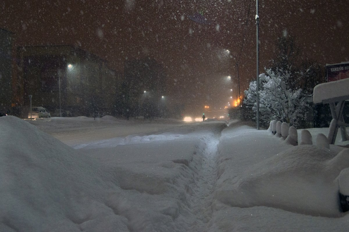 А снег идет. - Koch