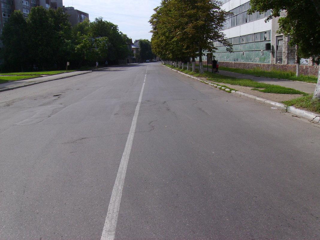 Улица  Академика  Сахарова  в  Ивано - Франковске - Андрей  Васильевич Коляскин