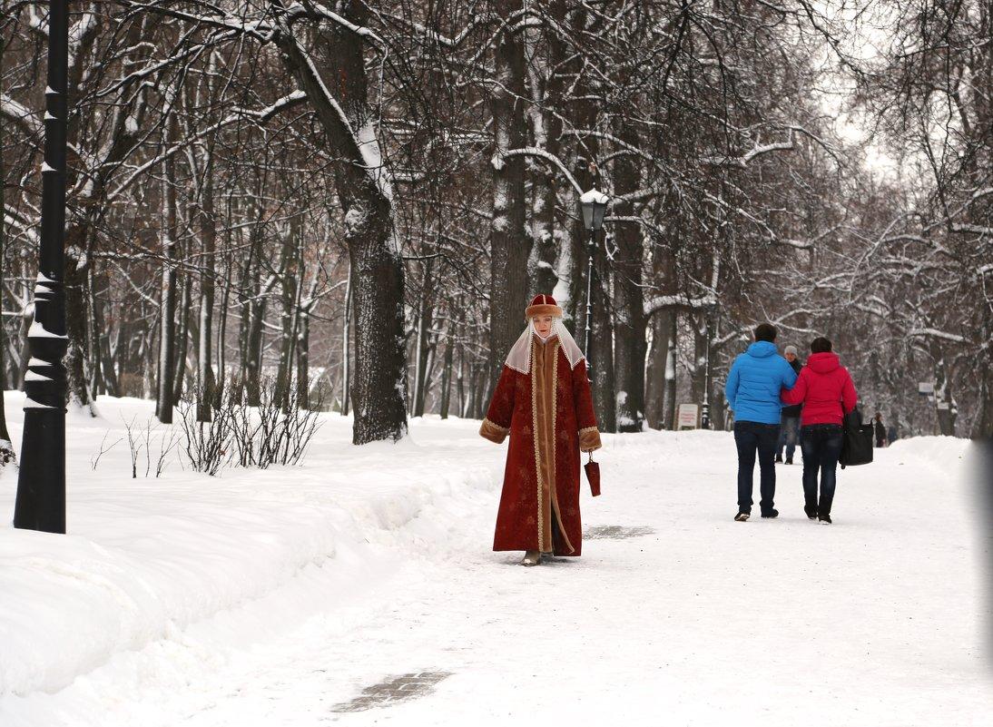 Прогулка в Коломенском - OLGA