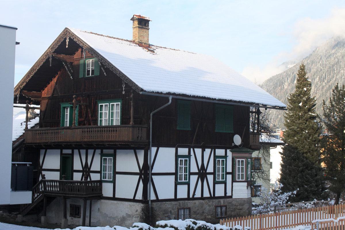 фото альпийские дома