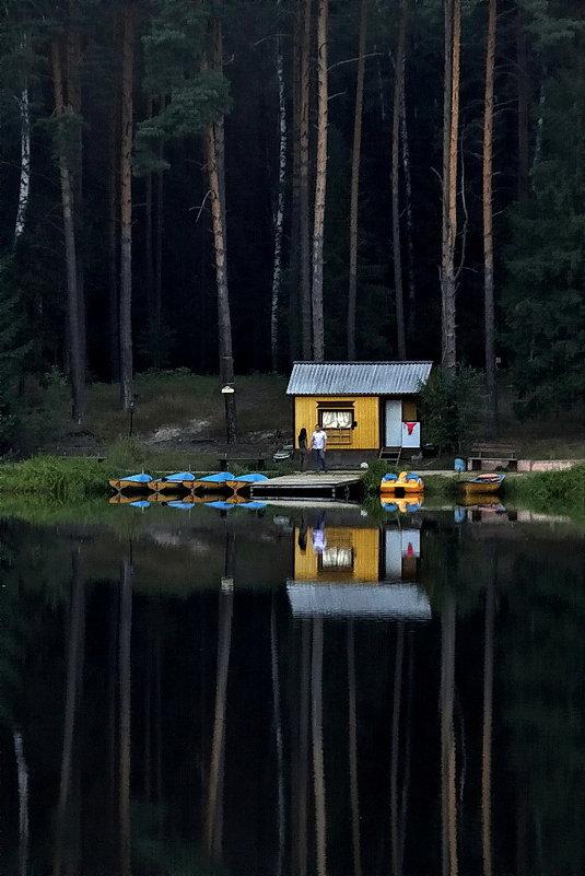 лодочная станция в звенигороде