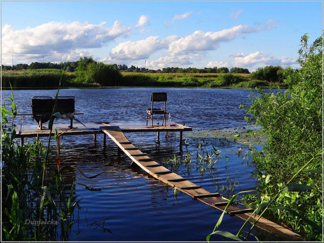 Как сделать мостки для рыбалки