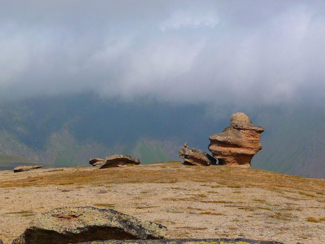Грибы или Столы богов на северном склоне г. Эльбрус. Высота 3000 м. - Vladimir 070549