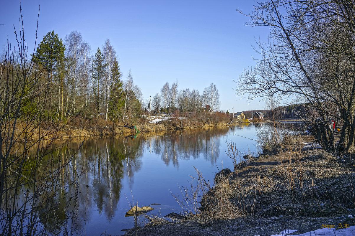 Рукотворная река (Отводной канал Конаковской ГРЭС). - Михаил (Skipper A.M.)