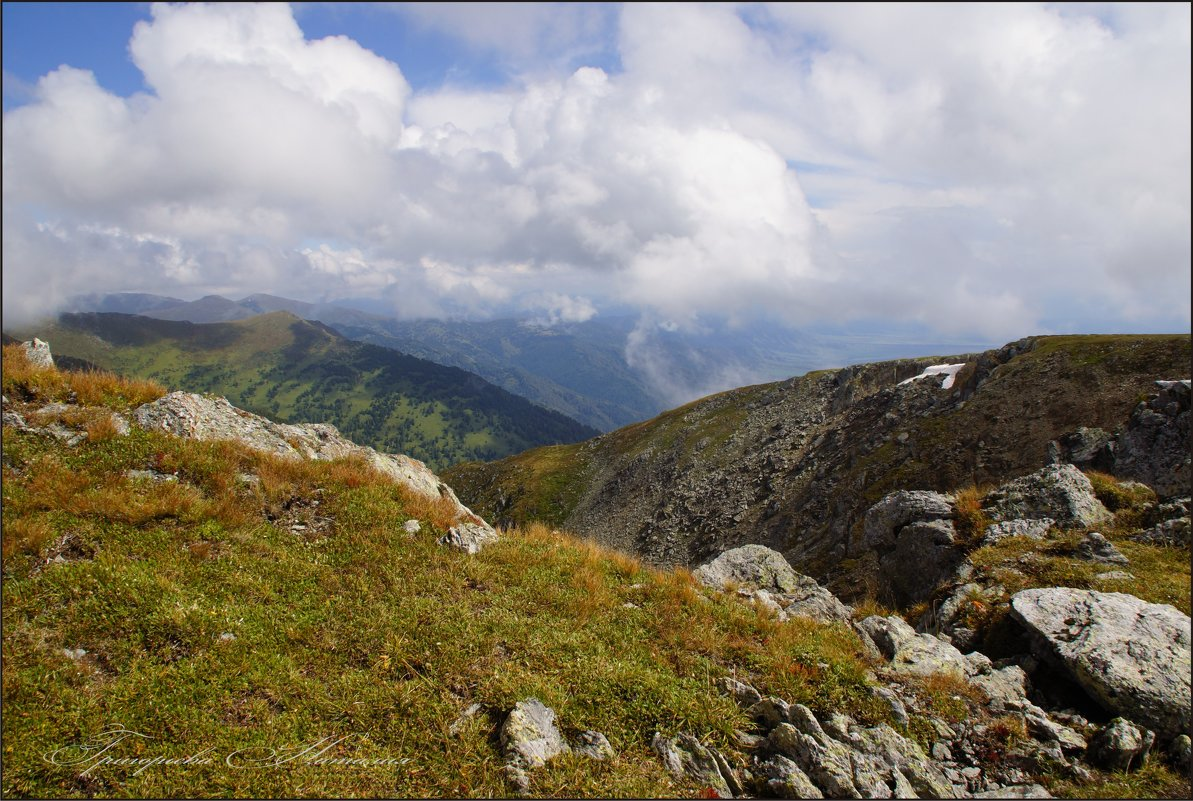 Облака над горами - Наталия Григорьева