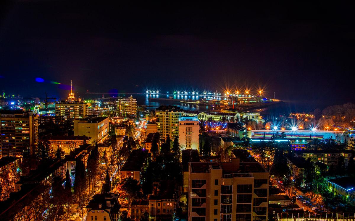 Ночная жизнь в Сочи – чем заняться после захода солнца