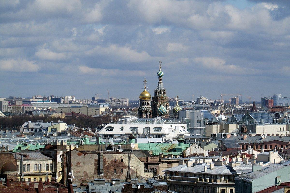 Вид с колоннады Исаакиевского собора - Татьяна Осипова(Deni2048)