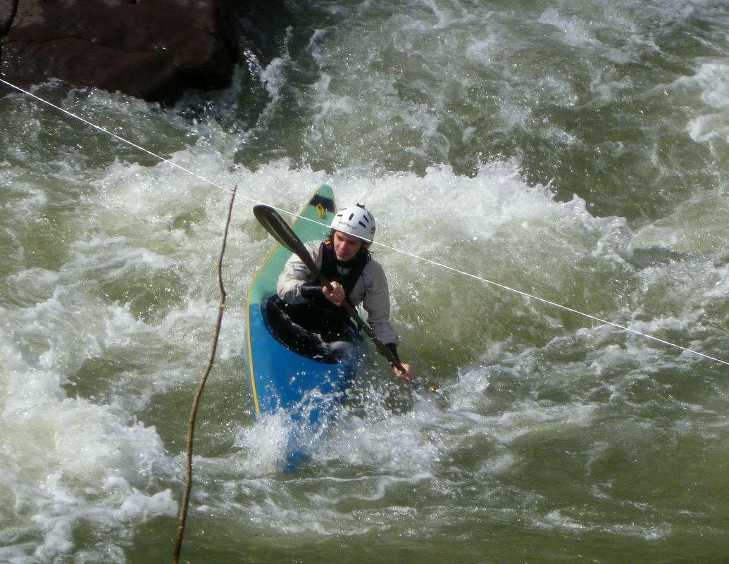 Тренировка на горной реке - Юлия Бабитко